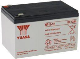NP12-12FR Yuasa NP Stationary Power 12v 12ah AGM Deep-Cycle Batteries Sealed