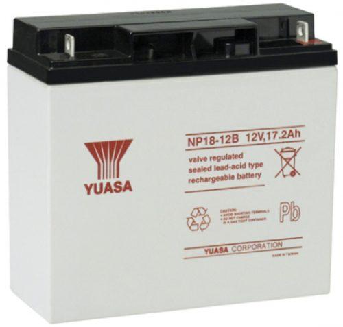 NP18-12BFR Yuasa NP Stationary Power 12v 17.2ah AGM Deep-Cycle Batteries Sealed
