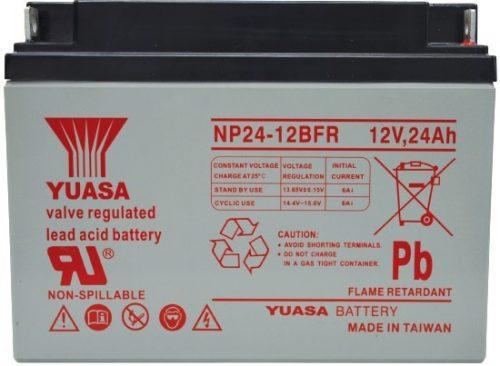 NP24-12BFR Yuasa NP Stationary Power 12v 24ah AGM Deep-Cycle Batteries Sealed