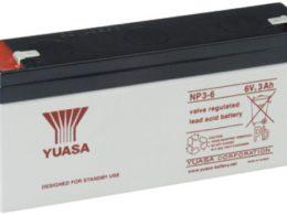 NP3-6FR Yuasa NP Stationary Power 6v 3ah AGM Deep-Cycle Batteries Sealed