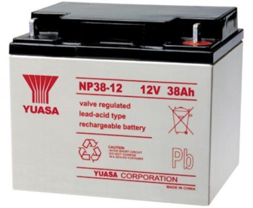 NP38-12BFR Yuasa NP Stationary Power 12v 38ah AGM Deep-Cycle Batteries Sealed