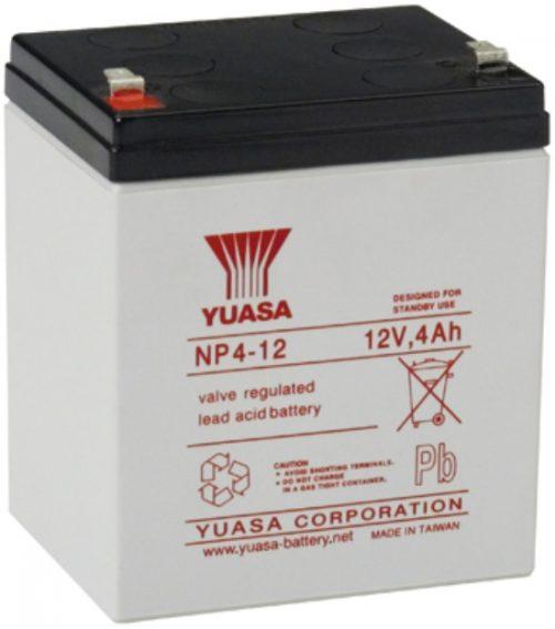 NP4-12FR Yuasa NP Stationary Power 12v 4ah AGM Deep-Cycle Batteries Sealed