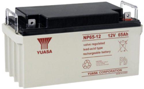 NP65-12BFR Yuasa NP Stationary Power 12v 65ah AGM Deep-Cycle Batteries Sealed