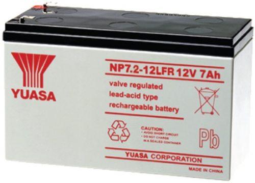 NP7.2-12LFR Yuasa NP Stationary Power 12v 7ah AGM Deep-Cycle Batteries Sealed