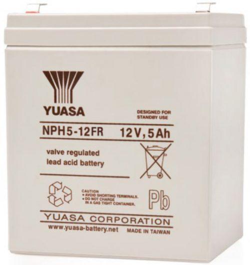 NPH5-12FR Yuasa NP Stationary Power 12v 5ah AGM Deep-Cycle Batteries Sealed