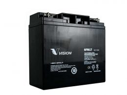 VISION 6FM17 17AH 12 AGM DEEP CYCLE BATTERY