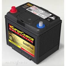 SUPERCHARGE 75D23R BATTERY 630 CCA 40 MONTHS WARRANTY (RIGHT HAND)