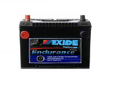 78DT-60MF EXIDE ENDURANCE AMERICAN STYLE DUAL POST BATTERY-FRONT TERMINAL BATTERY 760 CCA 30 MONTH WARRANTY