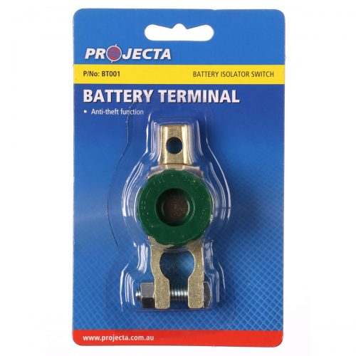 Projecta Battery anti-theft function terminal isolator Switch BT001