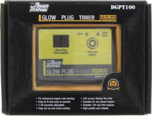 POWER TRAIN Glow Plug Timer 12/24v – DGPT100