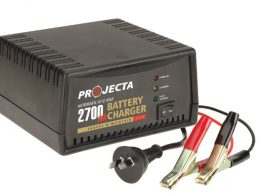 Projecta Charge N Maintain AC400 6v / 12v 2700ma 2 Stage Car Battery Charger