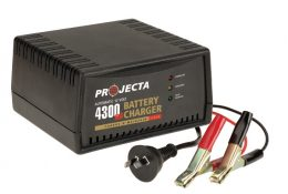 Projecta Charge N Maintain AC600 12v 4300ma 2 Stage Car Battery Charger PROJECTA AC600