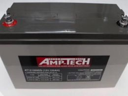 DEEP CYCLE SOLAR BATTERY 120 ah AGM BATTERY AMPTECH 121000DS