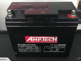 Amptech 12V 18AH SLA BATTERY AMPTECH AT12180D