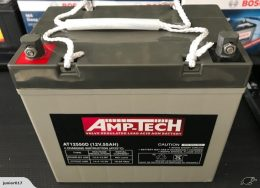 AMPTECH 12V 55 AH BATTERY AMPTECH AT12550D