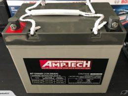 AMPTECH 12V 55 AH BATTERY AMPTECH AT12550D
