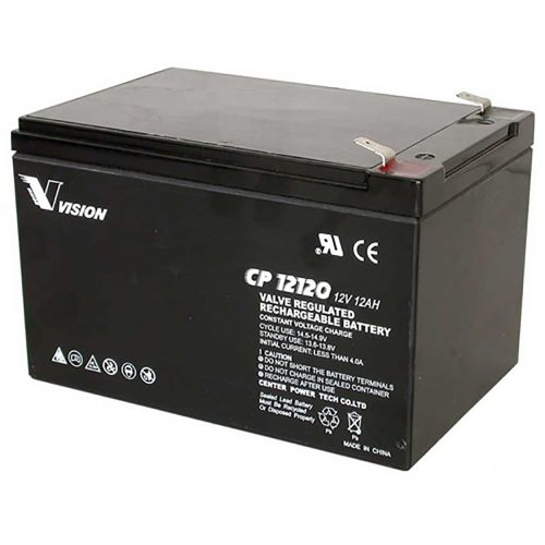 VISION CP12120 BATTERY 12V 12AH SEALED RECHARGEABLE SLA