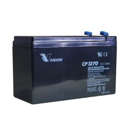 VISION CP1270 12 VOLT 7 AH SECURITY ALARM BATTERY – KONTIKI BATTERY