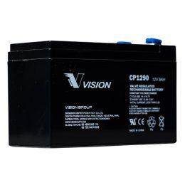 VISION CP1290 12V 9AH SECURITY ALARM BATTERY- KONTIKI BATTERY