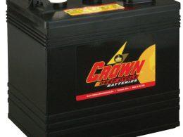 Crown 6 Volt Deep Cycle battery CR 220 6 Volt 220 AH