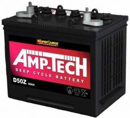 AMP-TECH Deep Cycle Battery 12V 80a/h – D50Z