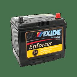 CAR BATTERY EN55D23LMF EXIDE ENFORCER BATTERY (55D23L) 24 MONTH WARRANTY