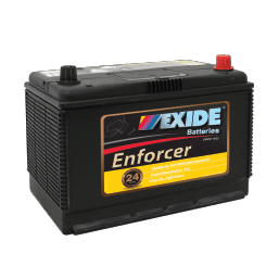 EXIDE EN70ZZLMF AUTO/COMMERCIAL BATTERY EXIDE ENFORCER (N70ZL, N70ZZL) 24 MONTH WARRANTY