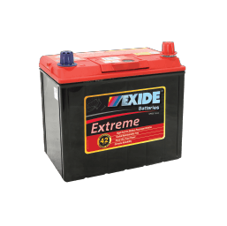 X60CMF EXIDE EXTREME BATTERY NS60 480CCA 42 MONTHS WARRANTY