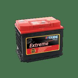 XDIN77HDXMF EXIDE EXTREME BATTERY DIN77 915CCA 36 MONTHS WARRANTY