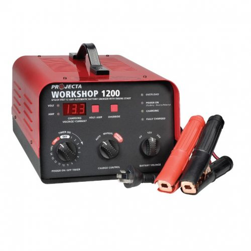 Projecta 6-24v 12amp 2 Stage Workshop Charger PROJECTA HDBC20