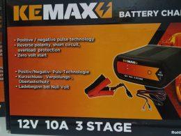 SMART BATTERY CHARGER KEMAX 12v 10amp 3 stage