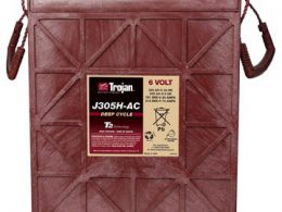 TROJAN DEEP CYCLE BATTERY 6V 360 AH TROJAN J305H-AC FREE SHIPPING EXCEPT RURAL ADDRESSES