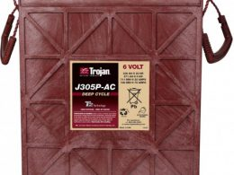 TROJAN DEEP CYCLE BATTERY 6V 330 AH TROJAN J305P-AC FREE SHIPPING EXCEPT RURAL ADDRESSES