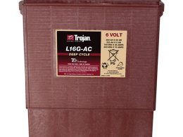 Trojan Battery 6v 390ahr Flooded Deep Cycle Lead Acid TROJAN L16G-AC FREE SHIPPING EXCEPT RURAL ADDRESSES