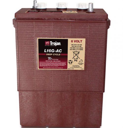Trojan Battery 6v 390ahr Flooded Deep Cycle Lead Acid TROJAN L16G-AC FREE SHIPPING EXCEPT RURAL ADDRESSES