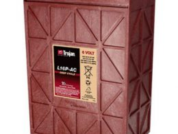 TROJAN DEEP CYCLE BATTERY 6V 420 AH TROJAN L16P-AC FREE SHIPPING EXCEPT RURAL ADDRESSES