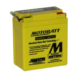 MOTOBATT QUADFLEX MBT6N6 6V MOTORBIKE BATTERY 6N61B, 6N63B FREE SHIPPING NATIONWIDE