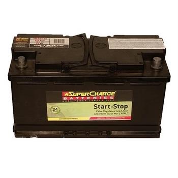 SuperCharge MF88HSS Start-Stop AGM Battery 12V 850CCA LN5