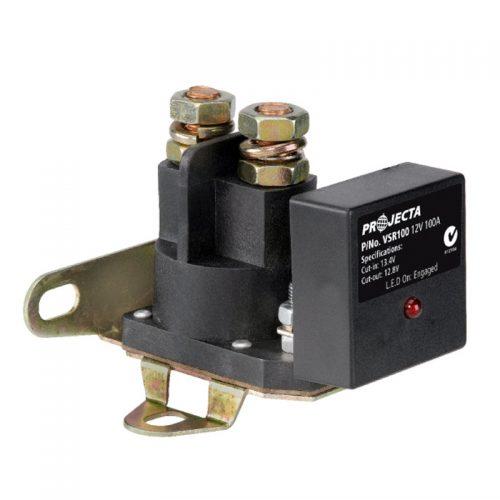 Projecta 12v 100a Voltage Sensitive Relay Full Kit VSR100K