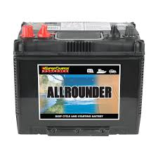 Supercharge All Rounder MRV50 (Starting & Deep Cycle) FREE SHIPPING EXCEPT RURAL AREAS