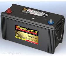SUPERCHARGE N100 COMMERCIAL BATTERY 12 MONTHS WARRANTY 815 CCA FREE SHIPPING EXCEPT RURAL AREAS
