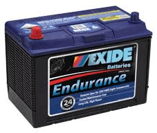 N70ZZ EXIDE ENDURANCE BATTERY 680 CCA 30 MONTH WARRANTY