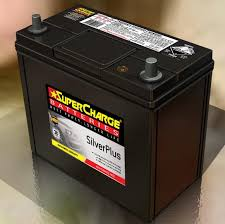 SUPERCHARGE NS60L BATTERY 380 CCA 30 MONTHS WARRANTY SMALL POST SMFNS60L