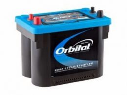 Exide Orbital Sealed Deep Cycle and Starting AGM Battery – ORB34DC-48