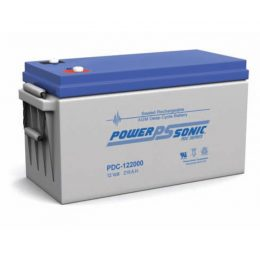 POWERSONIC PDC-122000 12v 214ah AGM Deep-Cycle Batteries Sealed