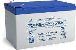 POWERSONIC PS-12120 12v 12ah AGM VRLA Sealed
