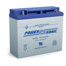 POWERSONIC PS-12180 12v 18ah AGM VRLA Sealed