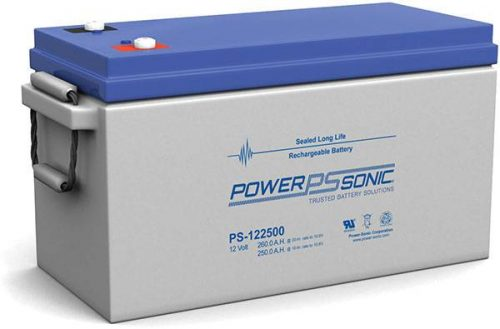 POWERSONIC PDC-122500 12v 268ah AGM Deep-Cycle Batteries Sealed