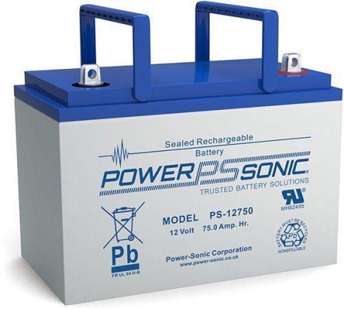 POWERSONIC PS-12750 12v 75ah AGM VRLA Sealed