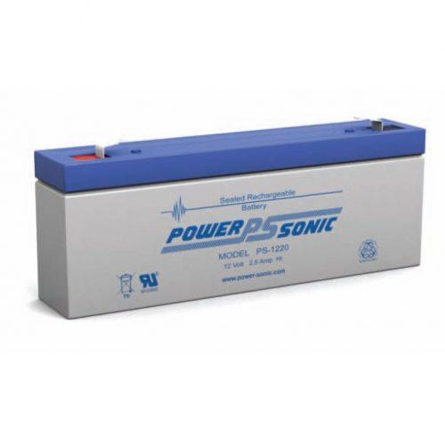 POWERSONIC PS-1220 12v 2.5ah AGM VRLA Sealed